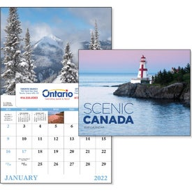 Canadian Scenic - Window Calendar (2017)