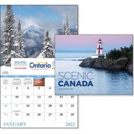 Canadian Scenic - Window Calendar (2020)