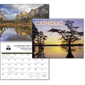 Catholic Scenic Executive Calendar for your School