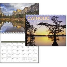 Catholic Scenic Executive Calendar for Advertising