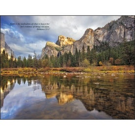 Personalized Catholic Scenic Executive Calendar