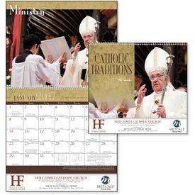 Catholic Traditions Appointment Calendar for Your Organization