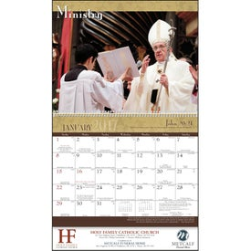 Personalized Catholic Traditions Appointment Calendar