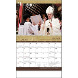 Custom Catholic Traditions Appointment Calendar
