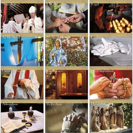 Catholic Traditions Appointment Calendar Printed with Your Logo