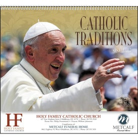 Customized Catholic Traditions Appointment Calendar