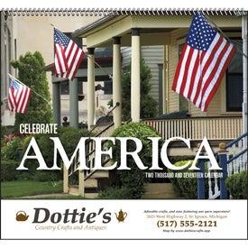 Celebrate America Spiral Calendar, English for your School
