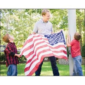 Monogrammed Celebrate America Spiral Calendar, English
