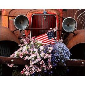 Printed Celebrate America Spiral Calendar, English