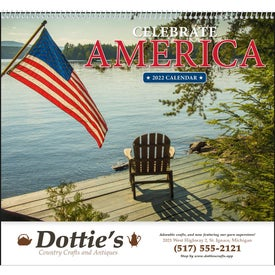 Celebrate America Spiral Calendar, English (2017)