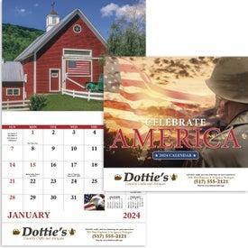 Celebrate America Calendar (2021, English)