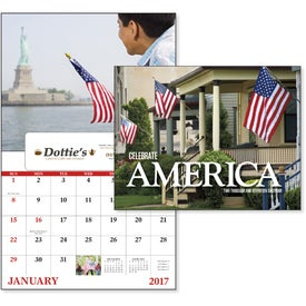 Company Celebrate America Window Calendar, English