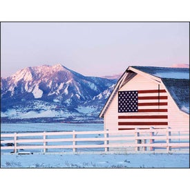 Celebrate America Window Calendar, English for Promotion