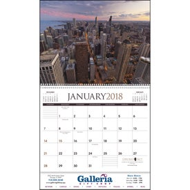 Personalized Chicago Appointment Calendar