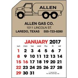 Stick Up Calendar for Advertising