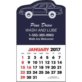 Monogrammed Stick Up Calendar