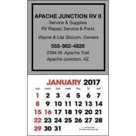 Imprinted Stick Up Calendar