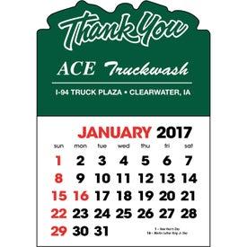 Stick Up Calendar with Your Logo
