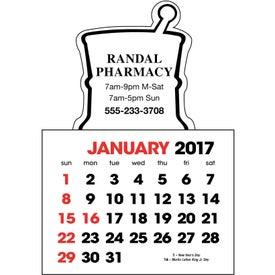 Customized Stick Up Calendar