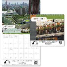 City Style Gardens Calendar with Your Logo