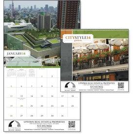 City Style Gardens Calendar with Your Logo