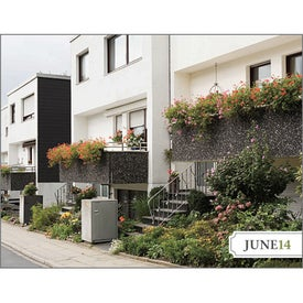 Personalized City Style Gardens Calendar