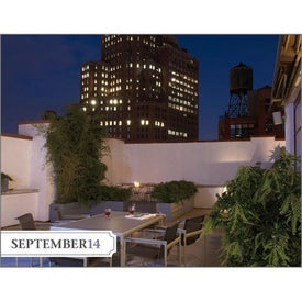 Imprinted City Style Gardens Calendar