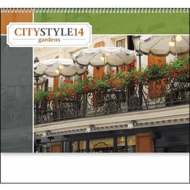 City Style Gardens Calendar for Customization