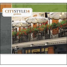 City Style Gardens Calendar for Customization