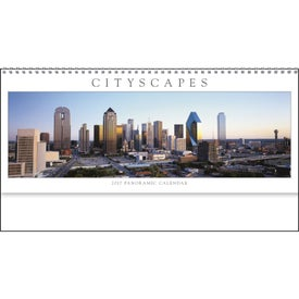 Promotional Cityscapes Panoramic Executive Calendar