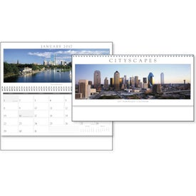 Company Cityscapes Panoramic Executive Calendar