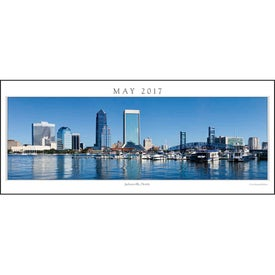 Cityscapes Panoramic Executive Calendar for your School