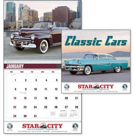 Classic Car Calendar for Advertising