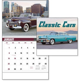 Branded Classic Car Calendar