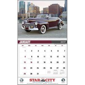 Classic Car Calendar for Customization