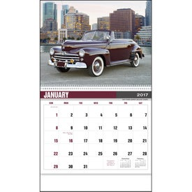 Classic Car Calendar for Advertising