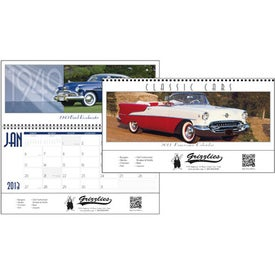 Classic Cars Panoramic Calendar for Your Organization