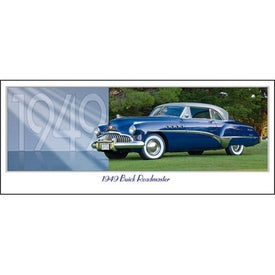 Classic Cars Panoramic Calendar for Your Company