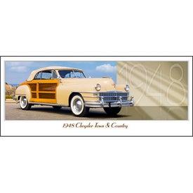 Branded Classic Cars Panoramic Calendar