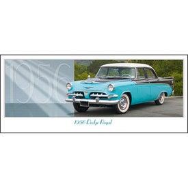 Custom Classic Cars Panoramic Calendar