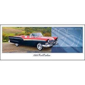 Imprinted Classic Cars Panoramic Calendar