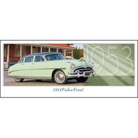 Classic Cars Panoramic Calendar for Customization