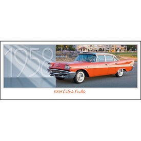 Advertising Classic Cars Panoramic Calendar