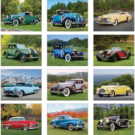 Customized Classic Cars Wall Calendar