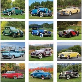 Customized Classic Cars Wall Calendar