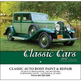 Classic Cars Wall Calendar (Stapled)