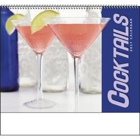 Cocktails - Spiral Calendar for Advertising