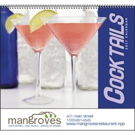 Customized Cocktails - Spiral Calendar