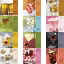Personalized Cocktails Stapled Calendar