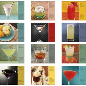 Imprinted Cocktails Stapled Calendar